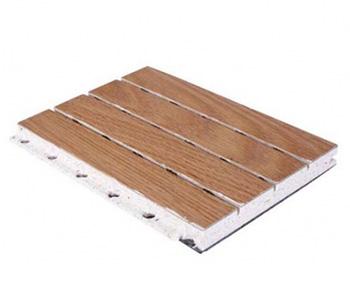 玻镁槽木吸音板
