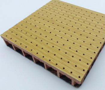 孔木吸音板