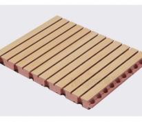 防火阻燃槽木吸音板