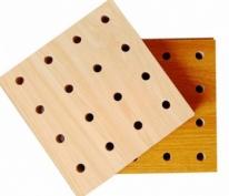 玻镁孔木吸音板