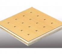 玻镁复合孔木吸音板