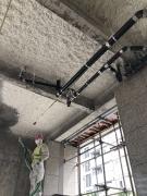驻马店地下室硬质无机纤维喷涂施工