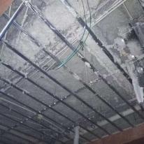 德州天花吊顶硬质无机纤维喷涂施工