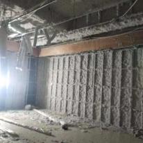 济南厂房防火纤维喷涂施工